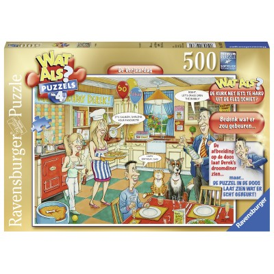 Puzzle  Ravensburger-14837 Wat Als Puzzels 4 - Happy Birthday