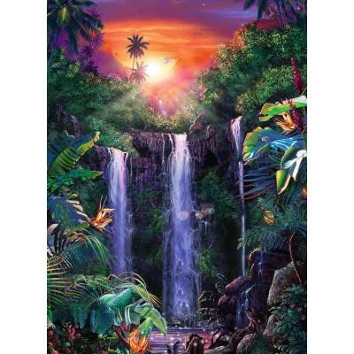 Puzzle Ravensburger-14840 Magical Waterfall