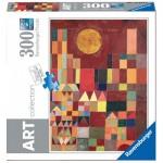 Puzzle  Ravensburger-14844 Paul Klee - Burg und Sonne