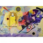 Puzzle  Ravensburger-14848 Vassily Kandinsky - Gelb-Rot-Blau
