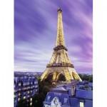 Puzzle  Ravensburger-14898 Starline - Funkelnder Eiffelturm