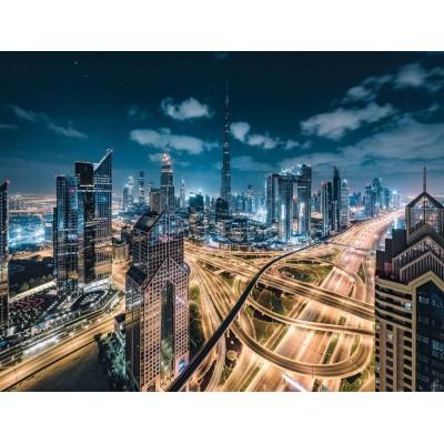 Puzzle Ravensburger-15017 Blick auf Dubai