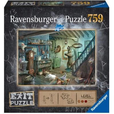 Ravensburger-15029 Exit Puzzle 8 - In Gruselkeller