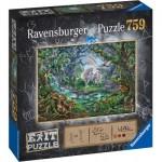 Ravensburger-15030 Exit Puzzle - Einhorn