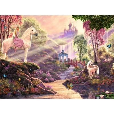 Puzzle  Ravensburger-15035 Der magische Fluss