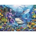 Puzzle  Ravensburger-15039 König des Meeres