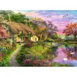 Puzzle  Ravensburger-15041 Landhaus