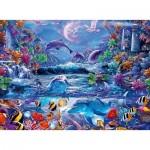 Puzzle  Ravensburger-15047 Sternlinie - Die Magie des Mondlichts