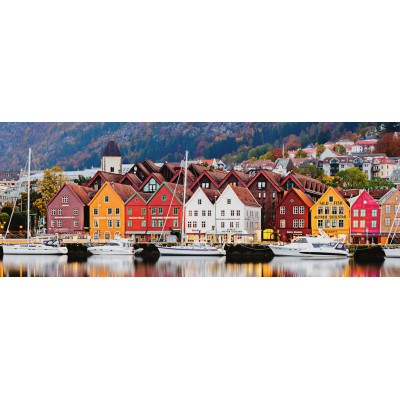 Puzzle  Ravensburger-15090 Bergen in Norwegen