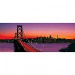 Ravensburger-15104 1000 Teile Panoramapuzzle - Oakland Bay Bridge, San Francisco