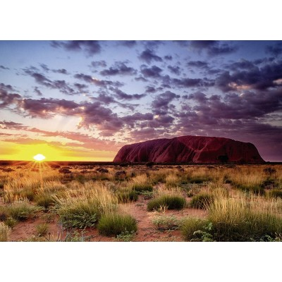 Puzzle Ravensburger-15155 Ayers Rock in Australien
