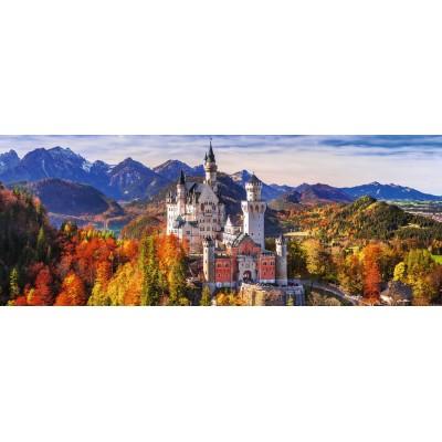 Puzzle Ravensburger-15161 Schloss Neuschwanstein in Bayern