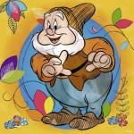 Puzzle  Ravensburger-15242 Disney - Happy