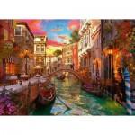 Puzzle  Ravensburger-15262 Romantik in Venedig