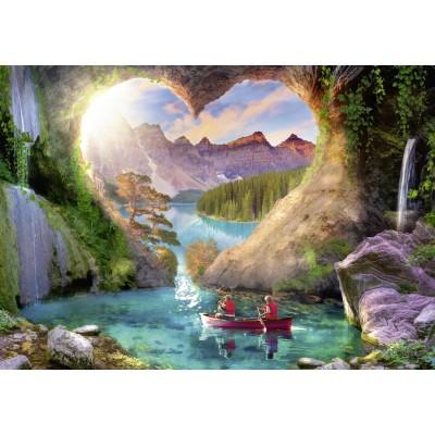 Puzzle  Ravensburger-15272 Die Höhle der Liebe