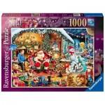 Puzzle  Ravensburger-15354 Let's visit Santa