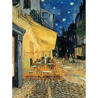 Puzzle  Ravensburger-15373 Art Collection: Vincent van Gogh