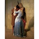 Puzzle  Ravensburger-15405 Francesco Hayez: Der Kuss