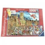 Puzzle  Ravensburger-15415 Bruxelles - Brussels