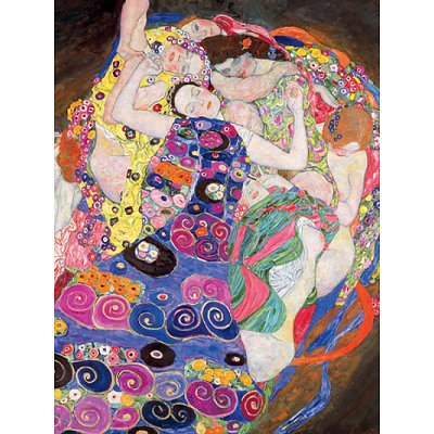 Puzzle  Ravensburger-15587 Klimt: Die Jungfrau