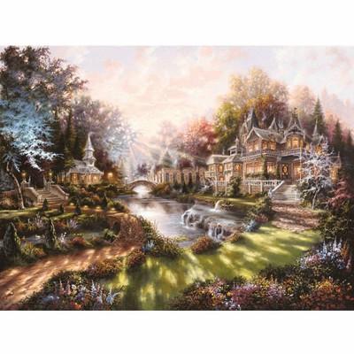 Puzzle Ravensburger-15944 Im Morgenglanz