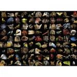 Puzzle  Ravensburger-15983 99 atemberaubende Tiere