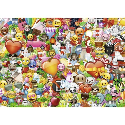 Puzzle  Ravensburger-15984 Emoji II