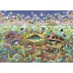 Puzzle  Ravensburger-15988 Die Unterwasserwelt in der Dämmerung