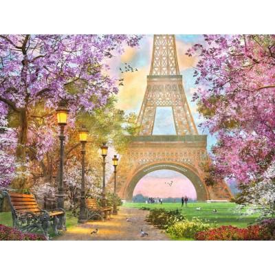 Puzzle  Ravensburger-16000 Liebe in Paris