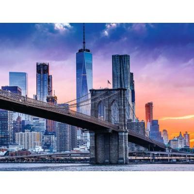 Puzzle Ravensburger-16011 Von Brooklyn nach Manhattan