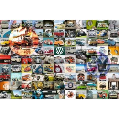 Puzzle Ravensburger-16018 99 VW Campervan Moments
