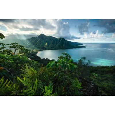 Puzzle Ravensburger-16106 Blick auf Hawaii