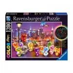 Puzzle  Ravensburger-16185 Star Line Color Collection - Gelini: Pier Party
