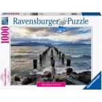 Puzzle  Ravensburger-16199 Puerto Natales, Chile