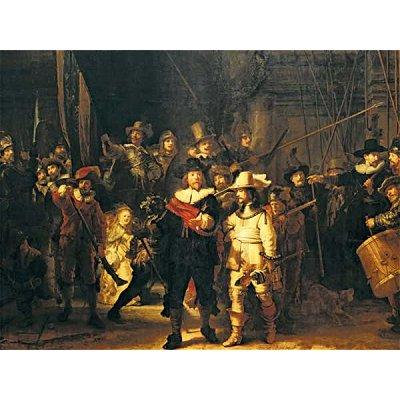 Puzzle Ravensburger-16205 Rembrandt: Die Nachtwache