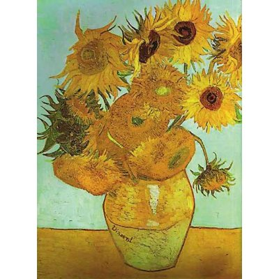 Puzzle Ravensburger-16206 Van Gogh: Sonnenblumen