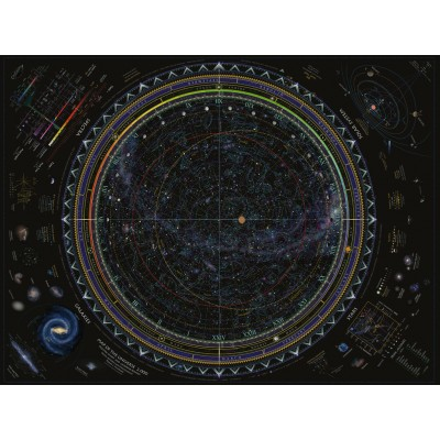 Puzzle  Ravensburger-16213 Universum