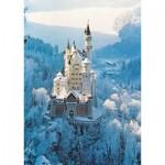 Puzzle  Ravensburger-16219 Schloss Neuschwanstein im Winter