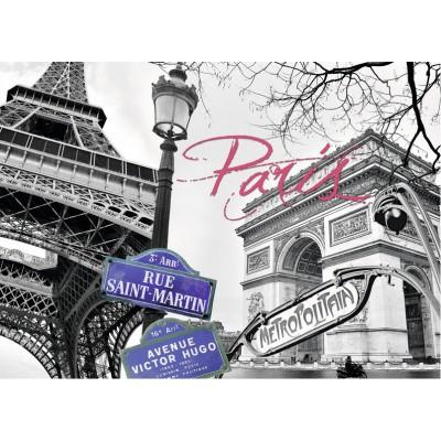 Puzzle  Ravensburger-16296 Paris, meine Liebe
