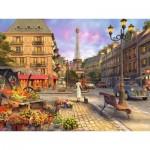 Puzzle  Ravensburger-16309 Vintage Paris