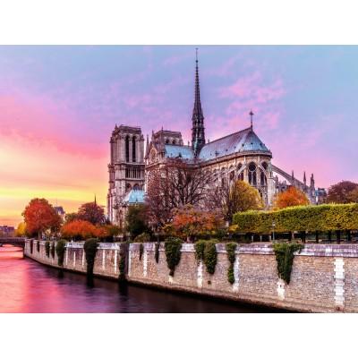 Puzzle  Ravensburger-16345 Notre-Dame, Paris