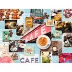 Puzzle  Ravensburger-16346 Kaffee und Kuchen