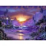 Puzzle  Ravensburger-16359 Sonnenaufgang im Paradies