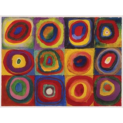 Puzzle  Ravensburger-16377 Kandinsky: Farbstudie
