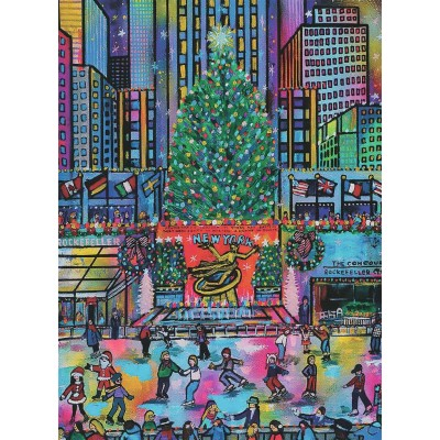 Puzzle Ravensburger-16424 Rockefeller Christmas