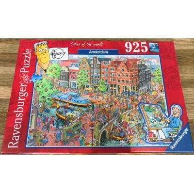 Puzzle Ravensburger-16429 Amsterdam