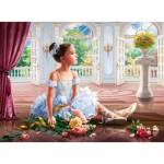 Puzzle  Ravensburger-16448 Ballerinas Traum