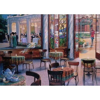 Puzzle Ravensburger-16449 Kaffeepause