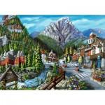 Puzzle  Ravensburger-16481 Willkommen in Banff