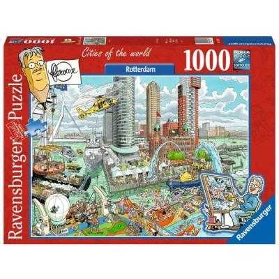 Puzzle  Ravensburger-16560 Rotterdam